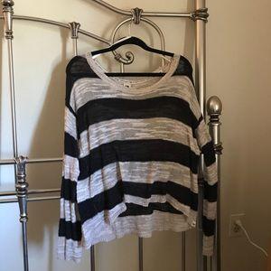 Roxy striped lightweight sweater - M